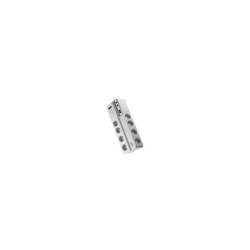 APC SurgeArrest Performance - Surge protector - AC 230 V - 2300 Watt - output connectors: 8 - Italy - white