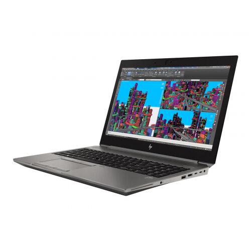 HP ZBook 15 G5 Mobile Workstation - Core i7 8750H / 2.2 GHz - Win 10 Pro 64-bit - 8 GB RAM - 256 GB SSD (16 GB SSD cache) NVMe, TLC - 15.6&uot; IPS 1920 x 1080 (Full HD) - Quadro P1000 / UHD Graphics 630 - Wi-Fi, Bluetooth - turbo silver - kbd: UK