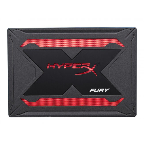HyperX FURY RGB Bundle - Solid state drive - 480 GB - internal - 2.5&uot; - SATA 6Gb/s - black