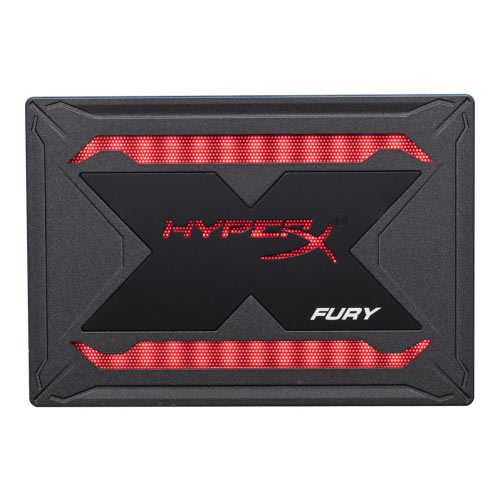 HyperX FURY RGB Bundle - Solid state drive - 240 GB - internal - 2.5&uot; - SATA 6Gb/s - black