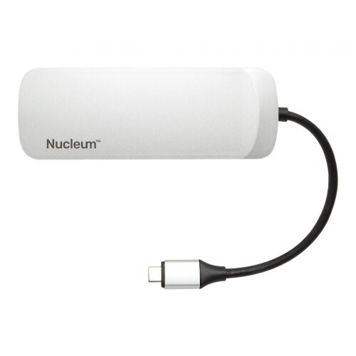 Kingston Nucleum - Docking station - USB-C - HDMI - for Apple iMac (Early 2019, Mid 2017); iMac Pro (Late 2017); MacBook (Early 2015, Early 2016, Mid 2017); MacBook Air (Late 2018); MacBook Pro (Late 2016, Mid 2017, Mid 2018)