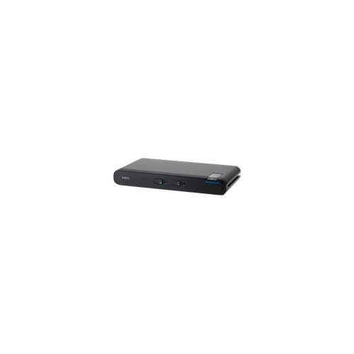 Belkin Universal Secure Single-Head - KVM / audio switch - 2 x KVM / audio - 1 local user - desktop - TAA Compliant