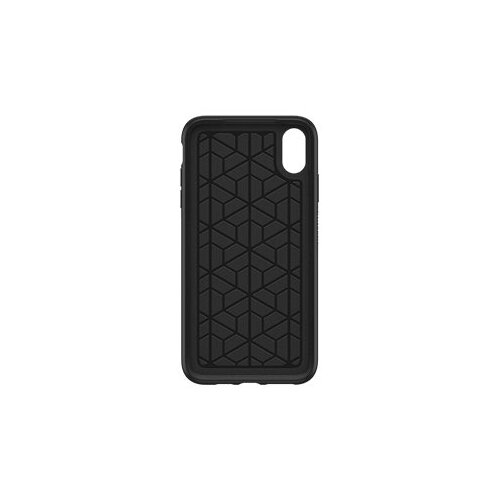 OtterBox Symmetry Series - Back cover for mobile phone - polycarbonate, synthetic rubber - black - for Apple iPhone XS Max