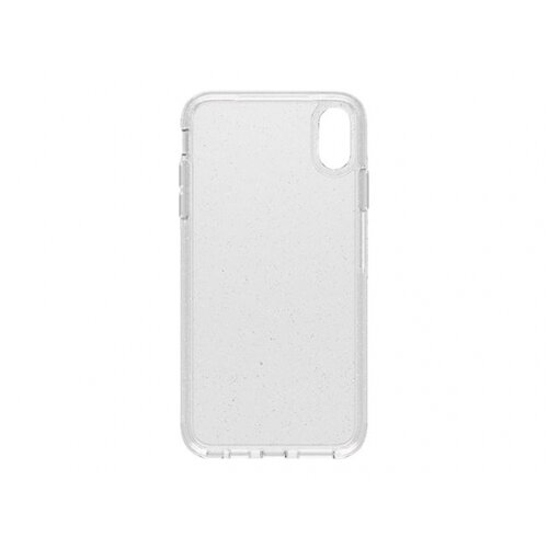 OtterBox Symmetry Series Clear Apple iPhone XS Max - Back cover for mobile phone - polycarbonate, synthetic rubber - stardust - for Apple iPhone XS Max