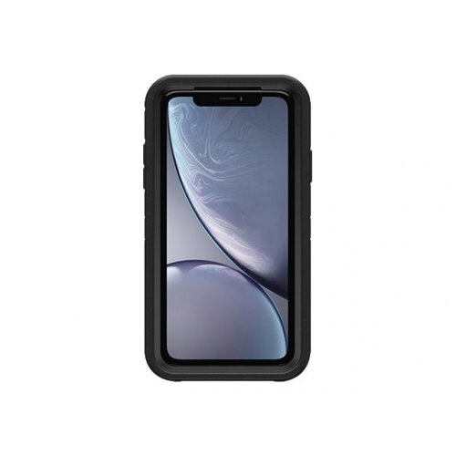 OtterBox Defender Series - Screenless Edition - back cover for mobile phone - rugged - polycarbonate, synthetic rubber - black - for Apple iPhone XR