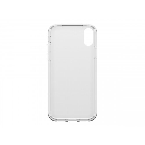 OtterBox Clearly Protected Skin - Back cover for mobile phone - thermoplastic polyurethane (TPU) - clear - for Apple iPhone X, XS