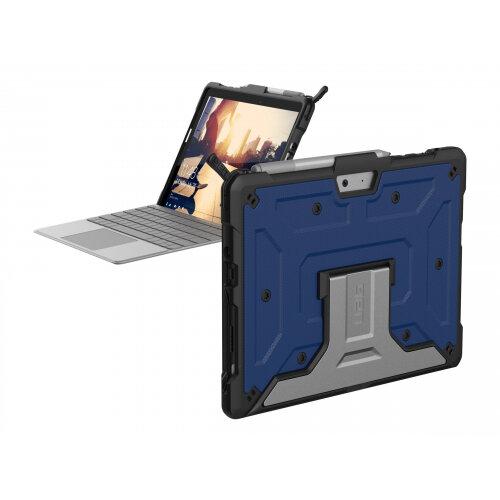 UAG Rugged Case for Microsoft Surface Go - Metropolis Cobalt - Back cover for tablet - rugged - aluminium - cobalt - for Microsoft Surface Go