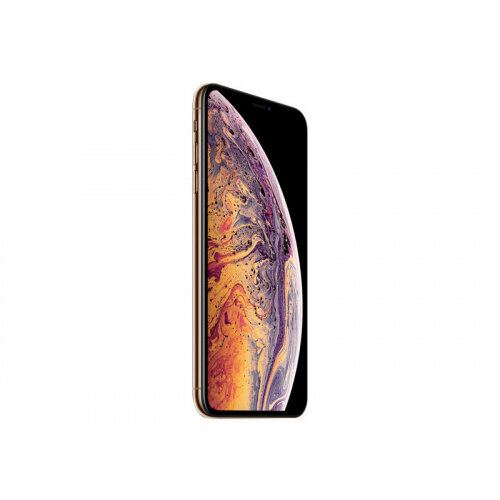Apple iPhone XS Max - Smartphone - dual-SIM - 4G Gigabit Class LTE - 64 GB - GSM - 6.5&uot; - 2688 x 1242 pixels (458 ppi) - Super Retina HD - 2x rear cameras (2x front cameras) - gold