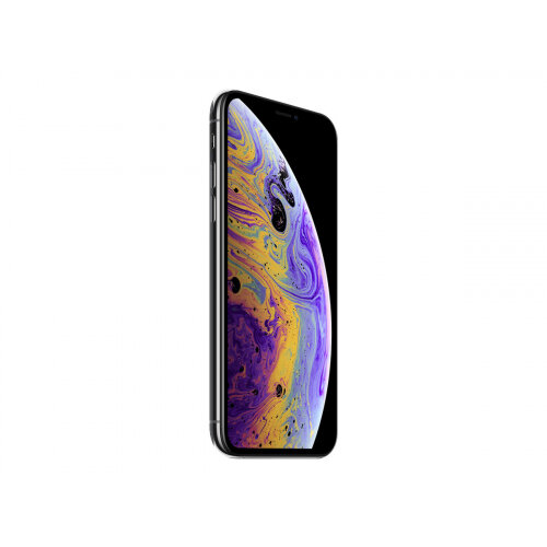 Apple iPhone XS - Smartphone - dual-SIM - 4G Gigabit Class LTE - 256 GB - GSM - 5.8&uot; - 2436 x 1125 pixels (458 ppi) - Super Retina HD - 2x rear cameras (2x front cameras) - space grey