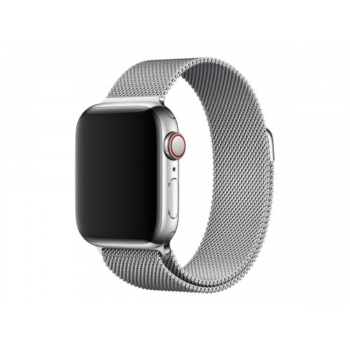 Apple 40mm Milanese Loop - Watch strap - 130-180 mm - silver - for Watch (38 mm, 40 mm)