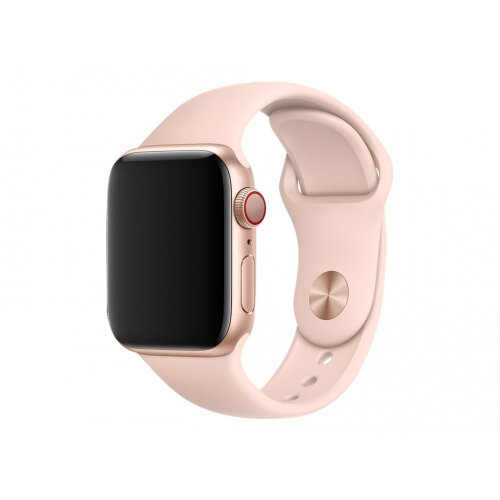 Apple 40mm Sport Band - Watch strap - 130-200 mm - pink sand - for Watch (38 mm, 40 mm)