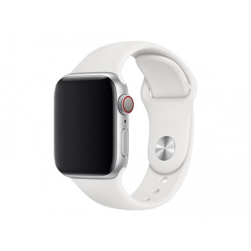 Apple 40mm Sport Band - Watch strap - 130-200 mm - white - for Watch (38 mm, 40 mm)