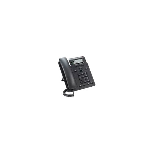 Cisco IP Phone 6821 - VoIP phone with caller ID/call waiting - SIP, SRTP - 2 lines