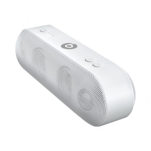 Beats Pill+ - Speaker - for portable use - wireless - Bluetooth - 2-way - white