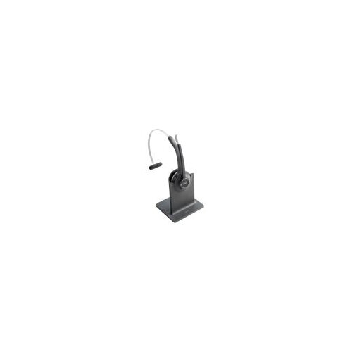 Cisco 561 Wireless Single - Headset - on-ear - convertible - DECT 6.0 - wireless - with Standard Base Station - for IP Phone 68XX, 78XX, 88XX; Unified IP Phone 79XX