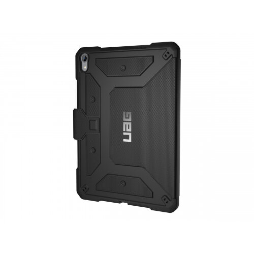 UAG Rugged Case for iPad Pro 11-inch - Metropolis Black - Flip cover for tablet - black - for Apple 11-inch iPad Pro