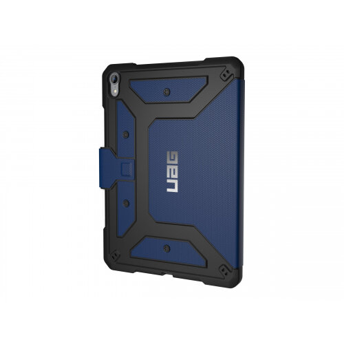 UAG Rugged Case for iPad Pro 11-inch - Metropolis Cobalt - Flip cover for tablet - cobalt - for Apple 11-inch iPad Pro