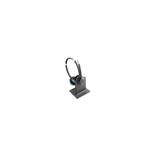 Cisco 562 Wireless Dual - Headset - on-ear - DECT 6.0 - wireless - with Standard Base Station - for Cisco DX70, DX80; IP Phone 68XX; Webex Board 55, Board 70, Board 85, Room 55, Room 70