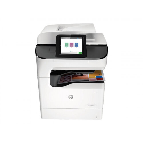 HP PageWide Color MFP 779dn - Multifunction printer - colour - page wide array - 280 x 432 mm (original) - A3/Ledger (media) - up to 45 ppm (copying) - up to 65 ppm (printing) - 650 sheets - USB 2.0, Gigabit LAN, USB 2.0 host