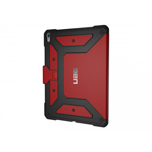 UAG Rugged Case for iPad Pro 12.9-inch (3rd Gen, 2018) - Metropolis Magma - Flip cover for tablet - magma - for Apple 12.9-inch iPad Pro (3rd generation)
