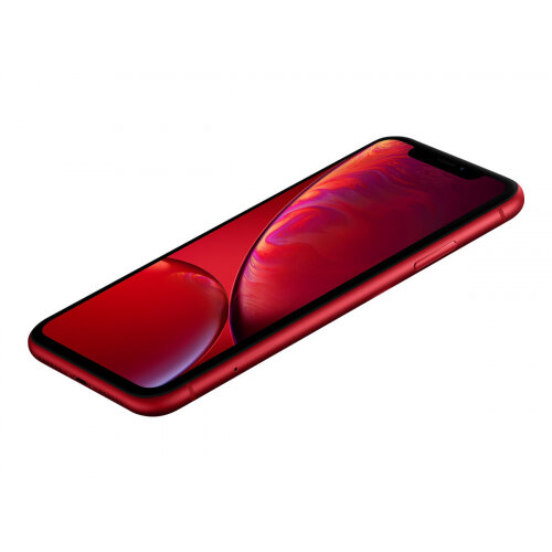Apple iPhone XR - (PRODUCT) RED Special Edition - smartphone - dual-SIM - 4G LTE Advanced - 64 GB - GSM - 6.1&uot; - 1792 x 828 pixels (326 ppi) - Liquid Retina HD display - 12 MP (7 MP front camera) - matte red