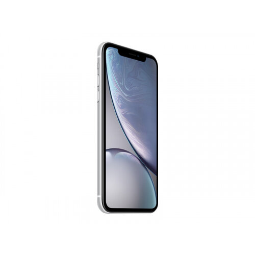 Apple iPhone XR - Smartphone - dual-SIM - 4G LTE Advanced - 64 GB - GSM - 6.1&uot; - 1792 x 828 pixels (326 ppi) - Liquid Retina HD display - 12 MP (7 MP front camera) - white
