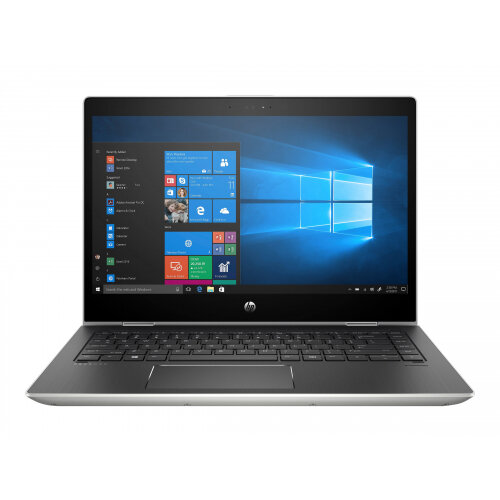 HP ProBook x360 440 G1 - Flip design - Core i7 8550U / 1.8 GHz - Win 10 Pro 64-bit - 8 GB RAM - 256 GB SSD NVMe - 14&uot; IPS touchscreen 1920 x 1080 (Full HD) - GF MX130 - Wi-Fi, Bluetooth - kbd: UK