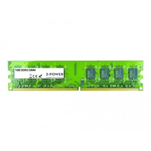 2-Power - DDR2 - 1 GB - DIMM 240-pin - 800 MHz / PC2-6400 - CL6 - unbuffered - non-ECC