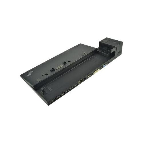 2-Power Lenovo ThinkPad Pro Dock - Docking station - USB 3.0 - VGA, DVI, DP - GigE - 65 Watt - for ThinkPad A475; L460; L470; L560; L570; P50s; P51s; T25; T460; T470; T560; T570; X260; X270