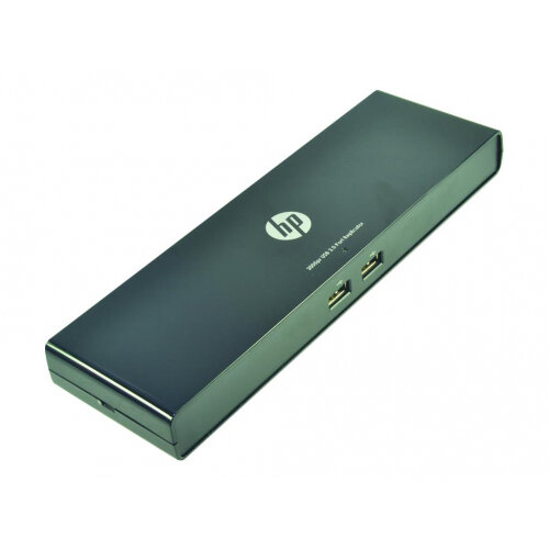 2-Power Port Replicator USB 3.0 - Docking station - USB - HDMI, DP - 10Mb LAN - 65 Watt - for HP Stream Pro 14 G3
