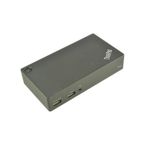 2-Power Pro Docking Station - Docking station - USB 3.0 - VGA, DVI - for Lenovo L340-15; L340-17; ThinkPad E490; E590; L390; L390 Yoga; T490; T590; X390; V340-17