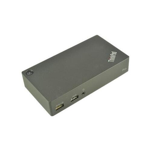 2-Power Pro Docking Station - Docking station - VGA, DVI - for Lenovo L340-15; L340-17; ThinkPad E490; E590; L390; L390 Yoga; T490; T590; X390; V340-17