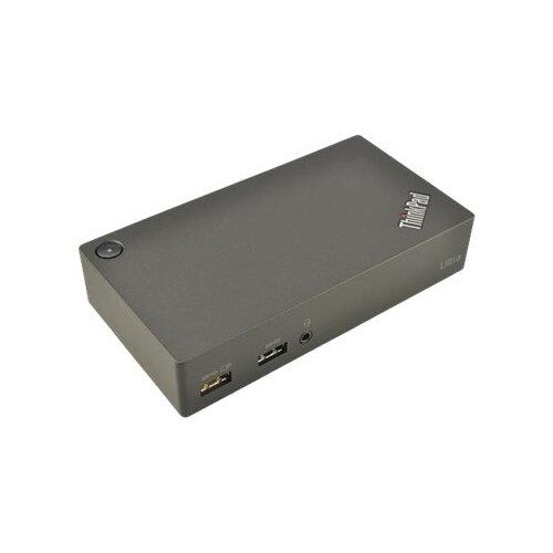 2-Power USB 3.0 45W Ultra Docking Station - Docking station - HDMI, DP - 45 Watt - for Lenovo ThinkPad A285; E490; E590; L390; L390 Yoga; P1; P72; T490; T590; X1 Extreme; X390