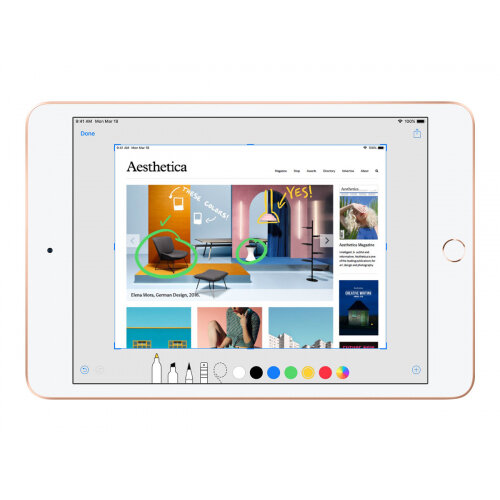 Apple 10.5-inch iPad Air Wi-Fi - 3rd generation - tablet - 64 GB - 10.5&uot; IPS (2224 x 1668) - gold