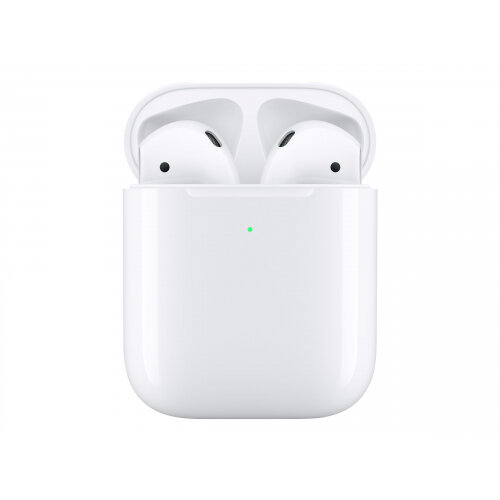 Apple AirPods with Wireless Charging Case - 2nd Generation - true wireless earphones with mic - ear-bud - Bluetooth