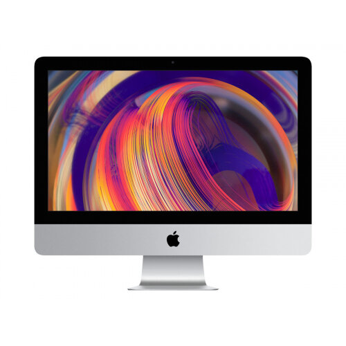 Apple iMac with Retina 4K display - All-in-one - 1 x Core i5 3 GHz - RAM 8 GB - Hybrid Drive 1 TB - Radeon Pro 560X - GigE - WLAN: 802.11a/b/g/n/ac, Bluetooth 4.2 - Apple macOS Mojave 10.14 - monitor: LED 21.5&uot; 4096 x 2304 (4K) - keyboard: English