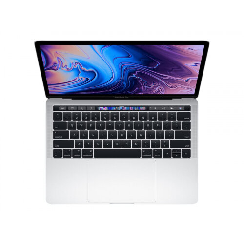 Apple MacBook Pro with Touch Bar - Core i5 2.4 GHz - Apple macOS Mojave 10.14 - 8 GB RAM - 256 GB SSD - 13.3&uot; IPS 2560 x 1600 (WQXGA) - Iris Plus Graphics 655 - Wi-Fi, Bluetooth - silver - kbd: English