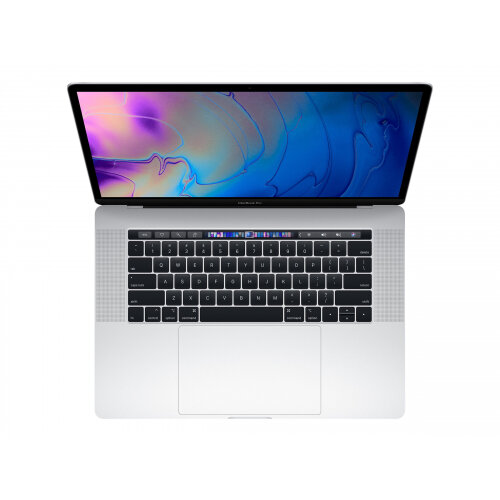 Apple MacBook Pro with Touch Bar - Core i7 2.6 GHz - Apple macOS Mojave 10.14 - 16 GB RAM - 256 GB SSD - 15.4&uot; IPS 2880 x 1800 (WQXGA+) - Radeon Pro 555X / UHD Graphics 630 - Wi-Fi, Bluetooth - silver - kbd: English