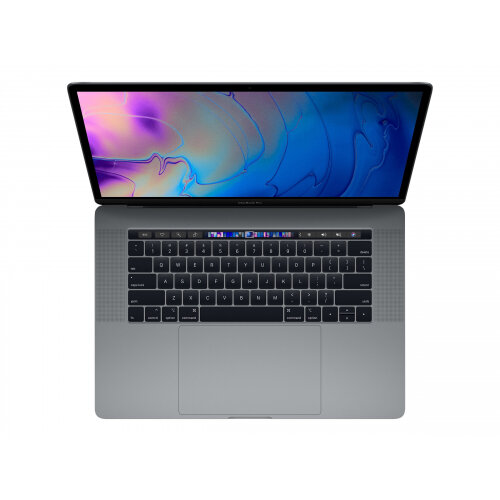 Apple MacBook Pro with Touch Bar - Core i7 2.6 GHz - Apple macOS Mojave 10.14 - 16 GB RAM - 256 GB SSD - 15.4&uot; IPS 2880 x 1800 (WQXGA+) - Radeon Pro 555X / UHD Graphics 630 - Wi-Fi, Bluetooth - space grey - kbd: English