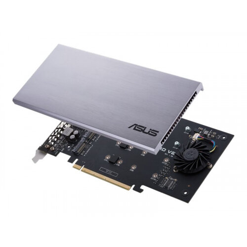 ASUS HYPER M.2 X16 CARD V2 - Interface adapter - M.2 - Expansion Slot to M.2 - M.2 Card - 128 Gbit/s - PCIe 3.0 x16