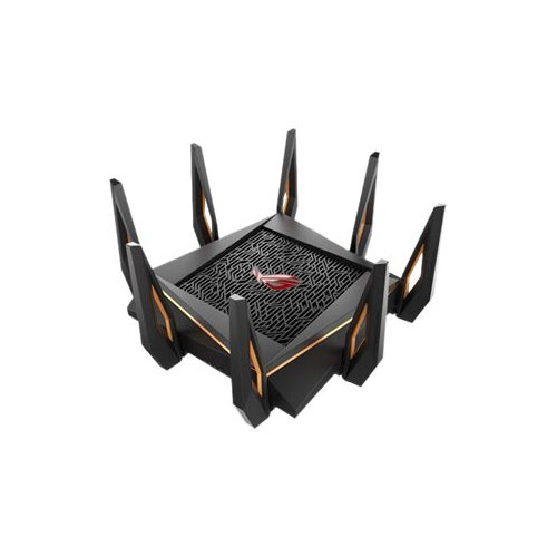 ASUS ROG Rapture GT-AX11000 - Wireless router - 4-port switch - GigE, 2.5 GigE, 802.11ax - WAN ports: 2 - 802.11a/b/g/n/ac/ax - Tri-Band
