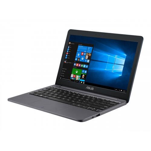ASUS VivoBook E12 E203MA FD017TS - Celeron N4000 / 1.1 GHz - Windows 10 in S mode 64-bit - 4 GB RAM - 64 GB eMMC - 11.6&uot; 1366 x 768 (HD) - UHD Graphics 600 - 802.11ac, Bluetooth - star grey
