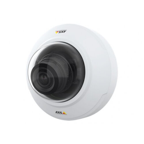 AXIS M4206-V Network Camera - Network surveillance camera - dome - indoor - dustproof / waterproof - colour (Day&Night) - 3 MP - 2048 x 1536 - 720p, 1080p - fixed iris - vari-focal - HDMI - LAN 10/100 - MJPEG, H.264, HEVC, H.265, MPEG-4 AVC - PoE Plus