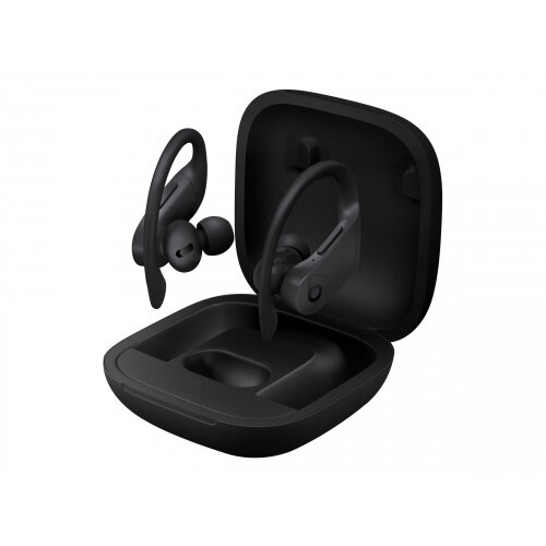 Beats Powerbeats Pro - True wireless earphones with mic - in-ear - over-the-ear mount - Bluetooth - noise isolating - black - for iPad/iPhone/iPod