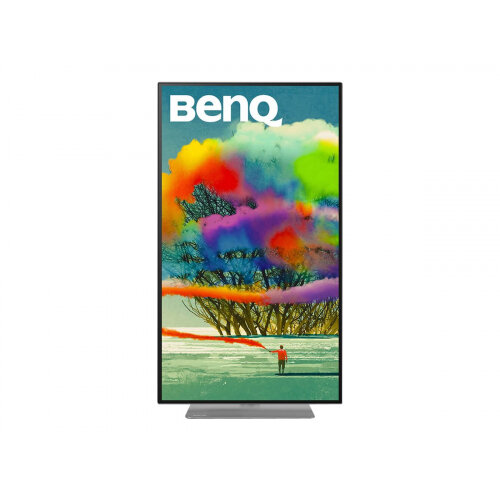 BenQ DesignVue PD2720U - PD Series - LED monitor - 27&uot; - 3840 x 2160 4K - IPS - 350 cd/m&up2; - 1000:1 - 5 ms - 2xHDMI, DisplayPort - speakers - grey, black