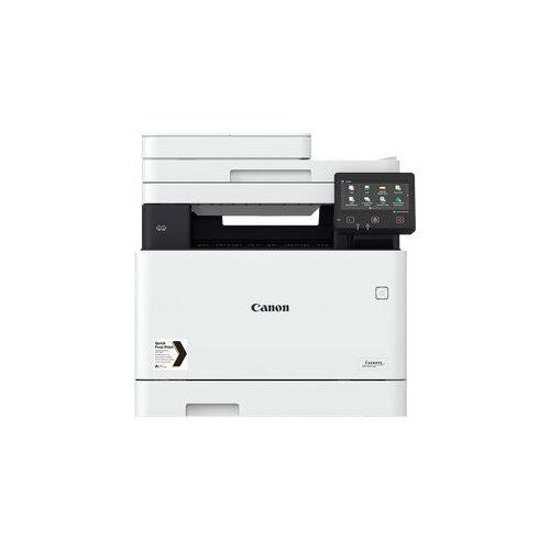 Canon i-SENSYS MF742Cdw - Multifunction printer - colour - laser - A4 (210 x 297 mm), Legal (216 x 356 mm) (original) - A4/Legal (media) - up to 27 ppm (copying) - up to 27 ppm (printing) - 300 sheets - USB 2.0, Gigabit LAN, Wi-Fi(n), USB host