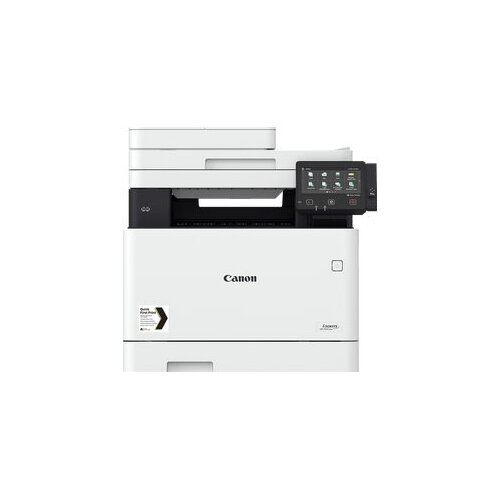 Canon i-SENSYS MF744Cdw - Multifunction printer - colour - laser - A4 (210 x 297 mm), Legal (216 x 356 mm) (original) - A4/Legal (media) - up to 27 ppm (copying) - up to 27 ppm (printing) - 300 sheets - 33.6 Kbps - USB 2.0, Gigabit LAN, Wi-Fi(n), USB host