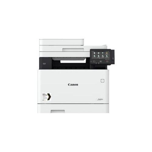 Canon i-SENSYS MF744Cdw - Multifunction printer - colour - laser - A4 (210 x 297 mm), Legal (216 x 356 mm) (original) - A4/Legal (media) - up to 27 ppm (copying) - up to 27 ppm (printing) - 300 sheets - 33.6 Kbps - USB 2.0, Gigabit LAN, Wi-Fi(n), USB host