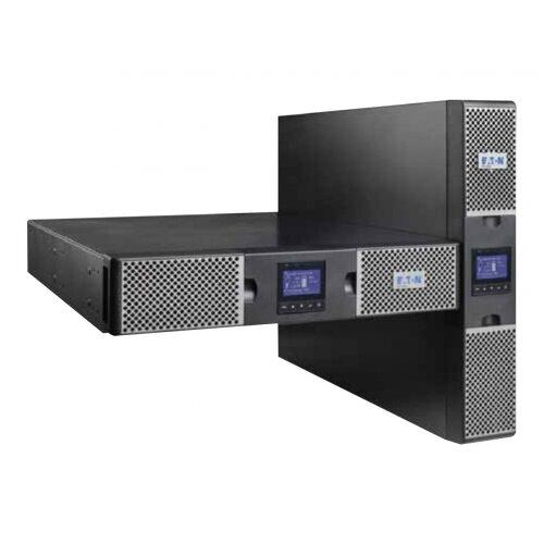 Eaton 9PX 1000i RT2U Netpack - UPS (rack-mountable / external) - AC 200/208/220/230/240 V - 1000 Watt - 1000 VA - Ethernet, RS-232, USB - output connectors: 8 - PFC - 2U