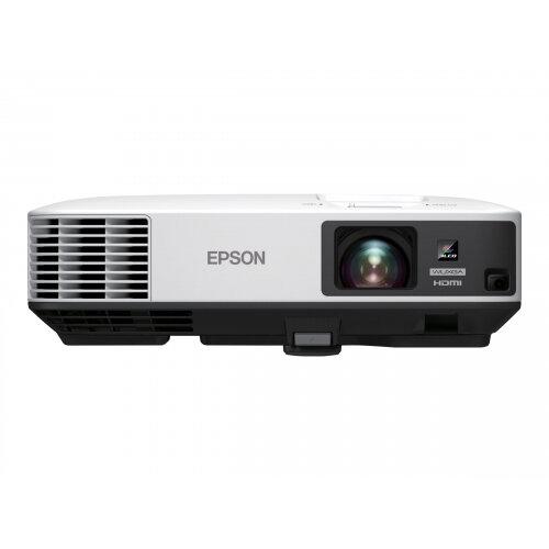 Epson EB-2255U - LCD projector - 5000 lumens (white) - 5000 lumens (colour) - WUXGA (1920 x 1200) - 16:10 - 1080p - 802.11b/g/n wireless / LAN / Miracast / Intel Wireless Display (WiDi)